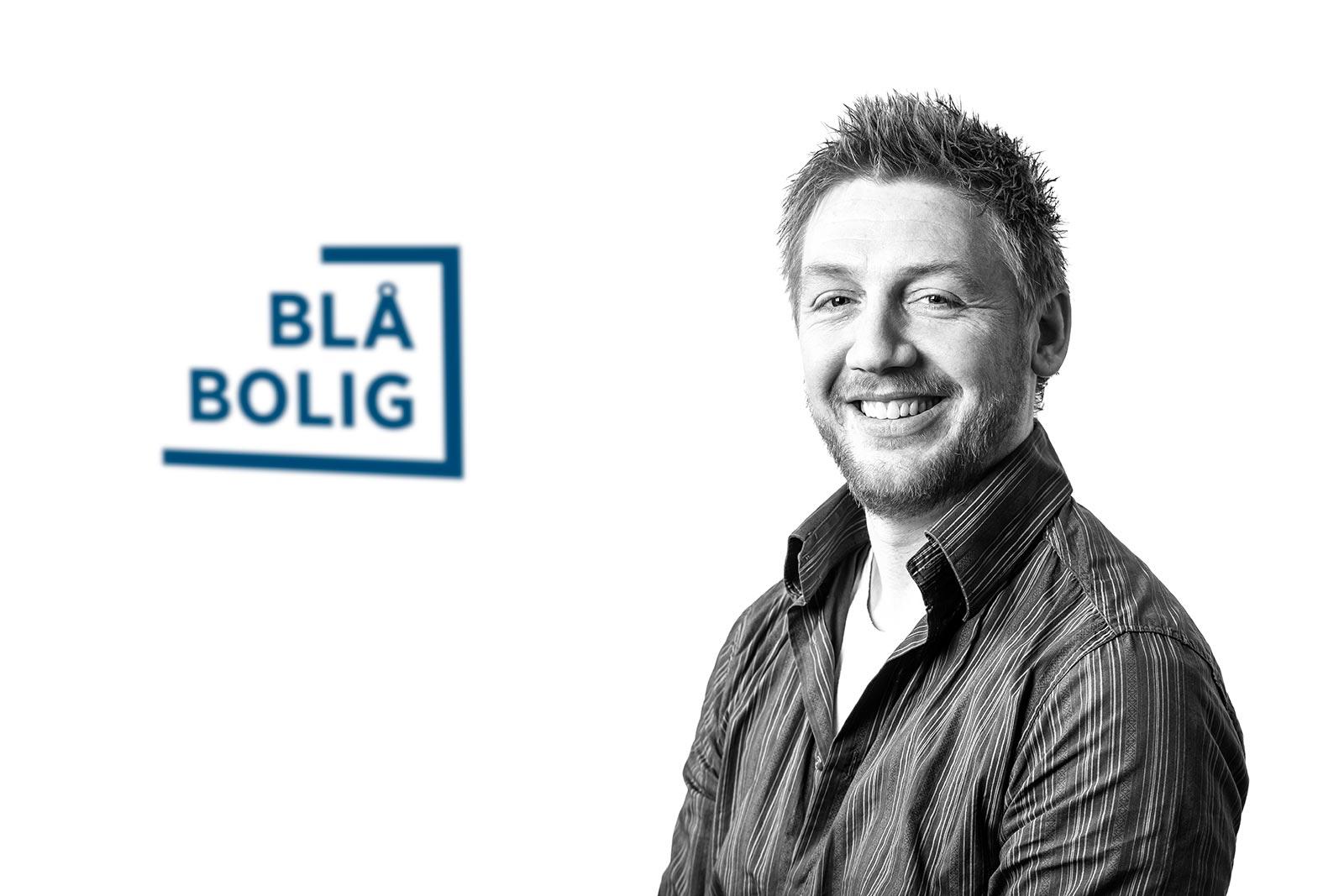 Adrian Sande, ass. daglig leder/teknisk leder Blå Bolig