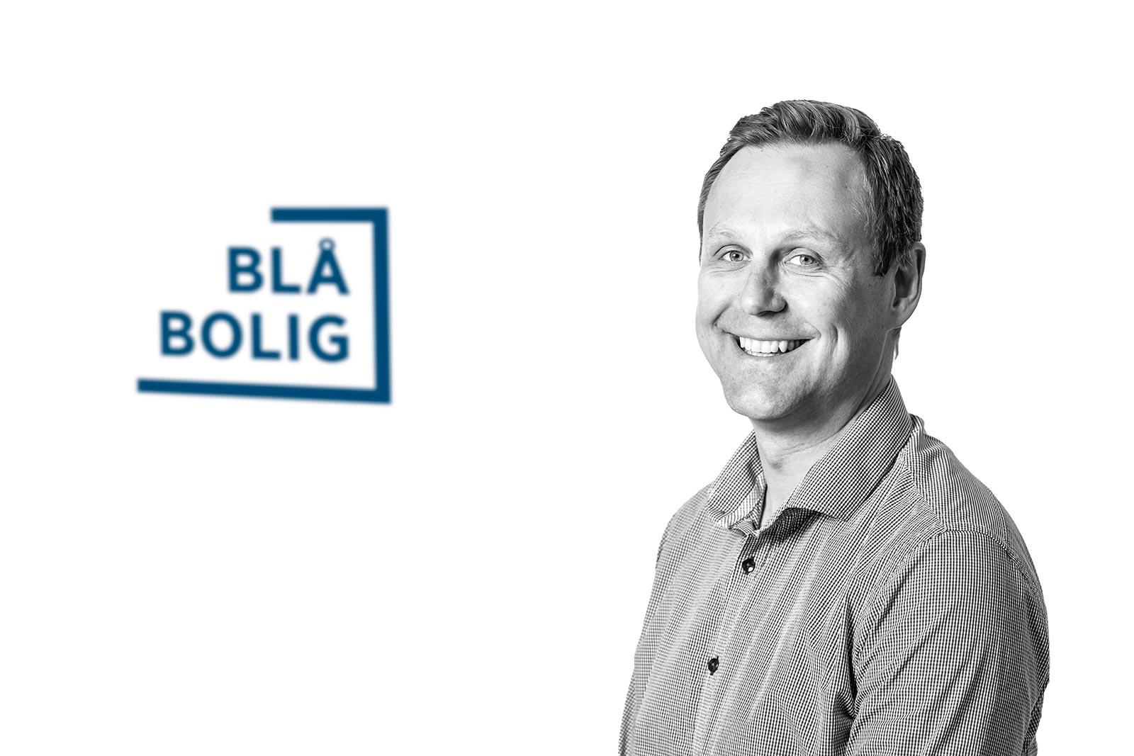 Eddy Reinfjord, salgsleder Blå Bolig