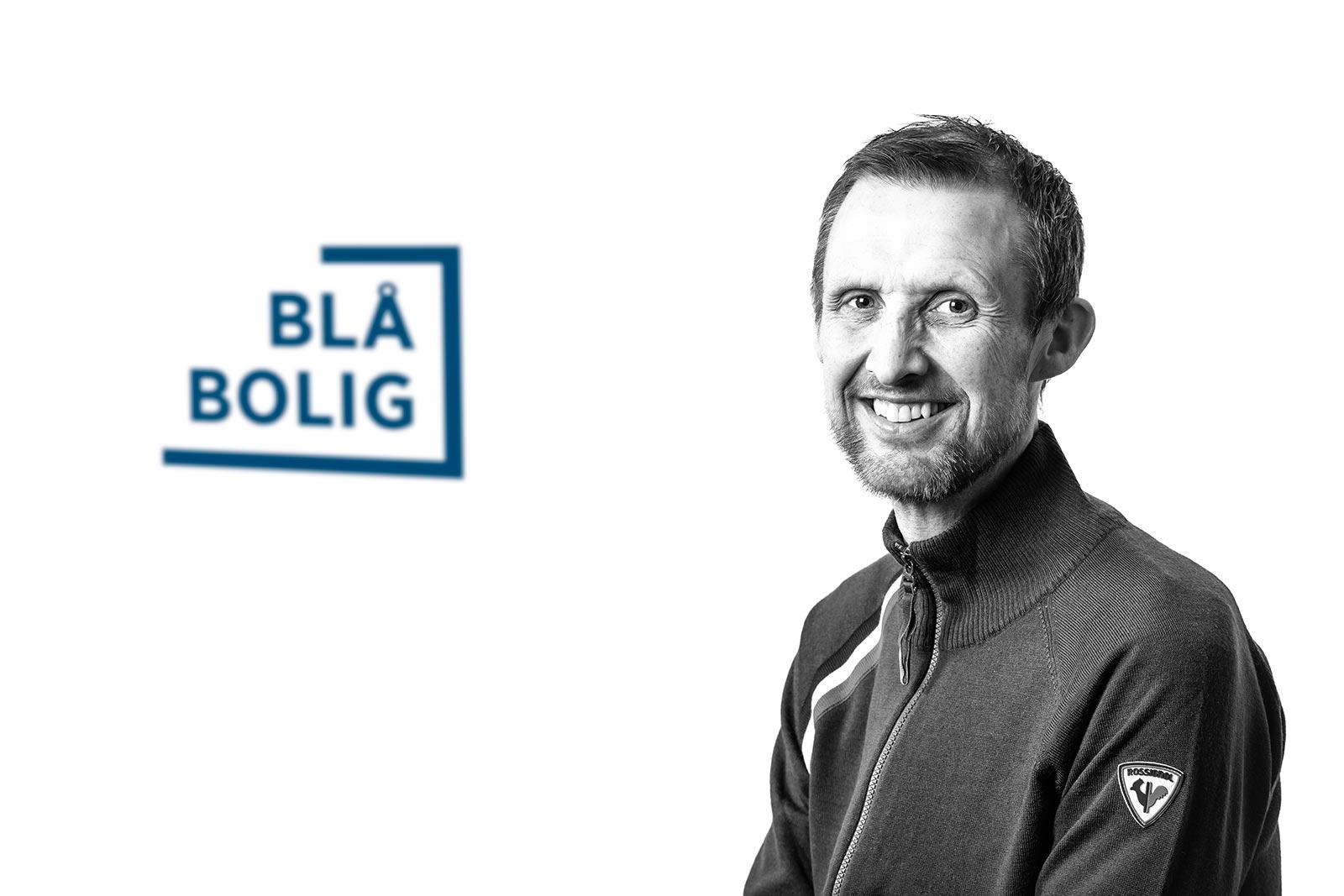 Raymond Monsen, daglig leder Blå Bolig