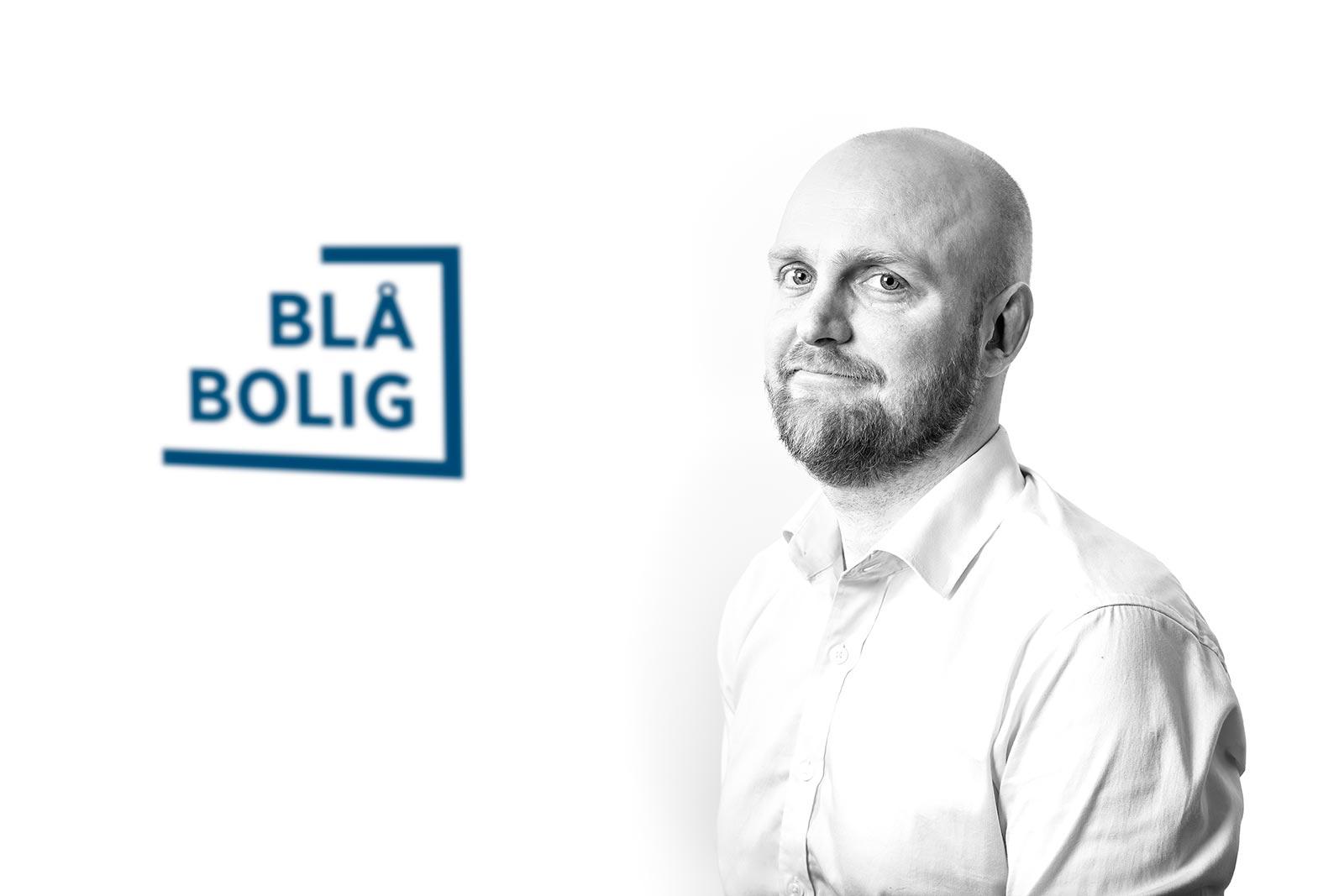 Thomas Dahle, teknisk tegner Blå Bolig