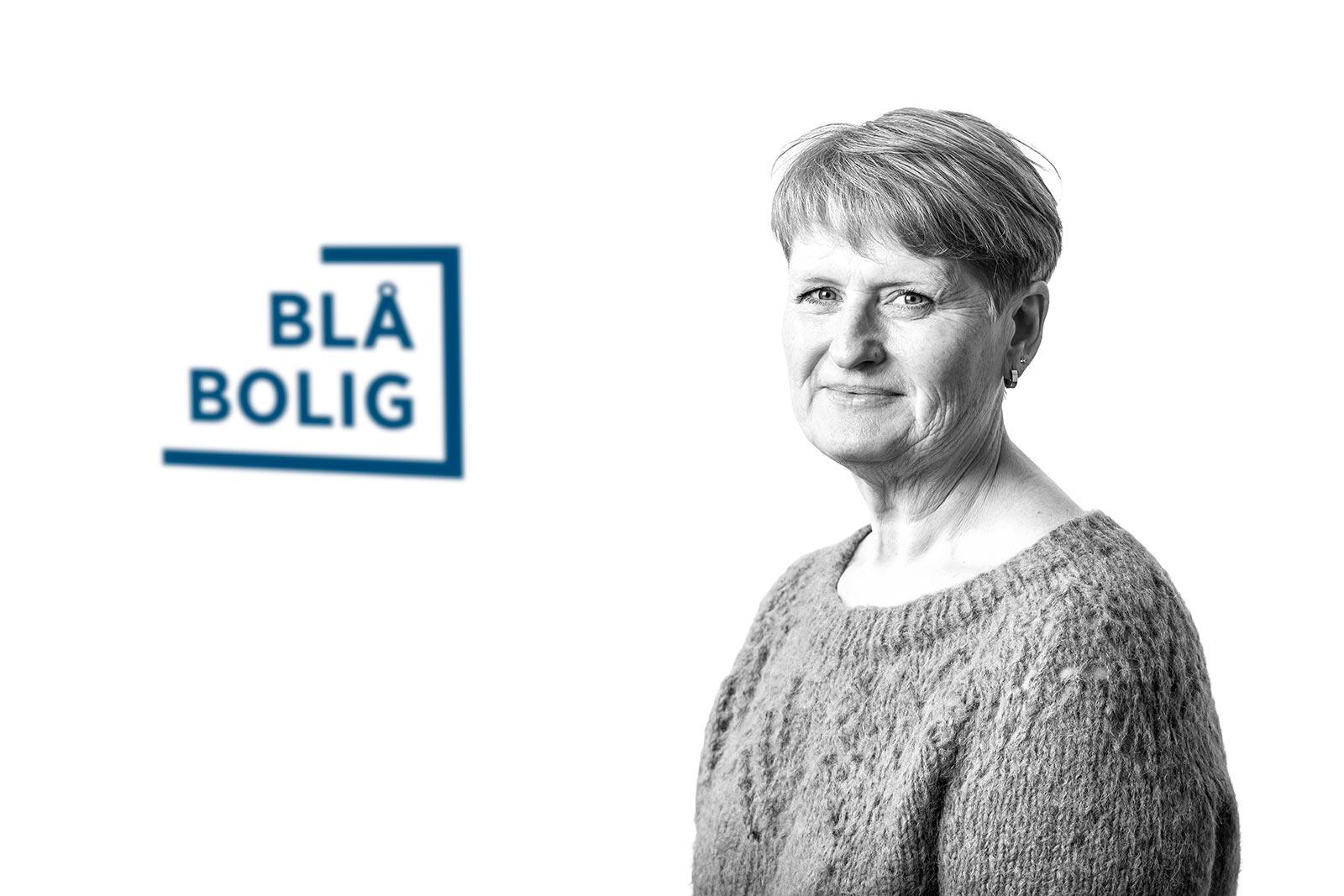 Trine Sivertsen, kontorleder Blå Bolig